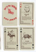 Collectible Playing cards Texas sesquicentennial 1986